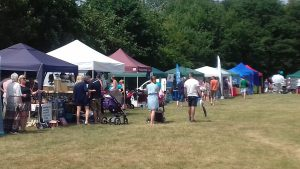 Over 20 local stallholders attended the ZCRA Fete 2018, many from Zebon Copse.