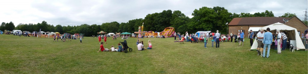General view of part of fete